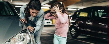 Kratzer, Blechschaden, Spiegel: Fahrerflucht bei Bagatellen
